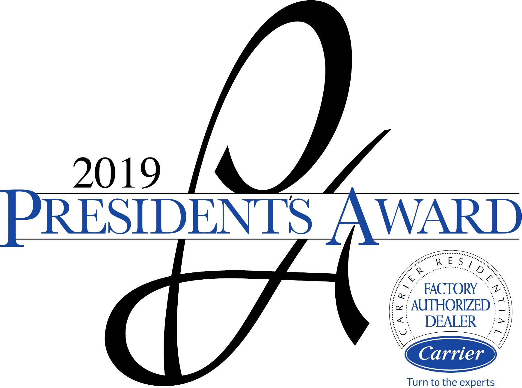 2019 President's Award from Carrier