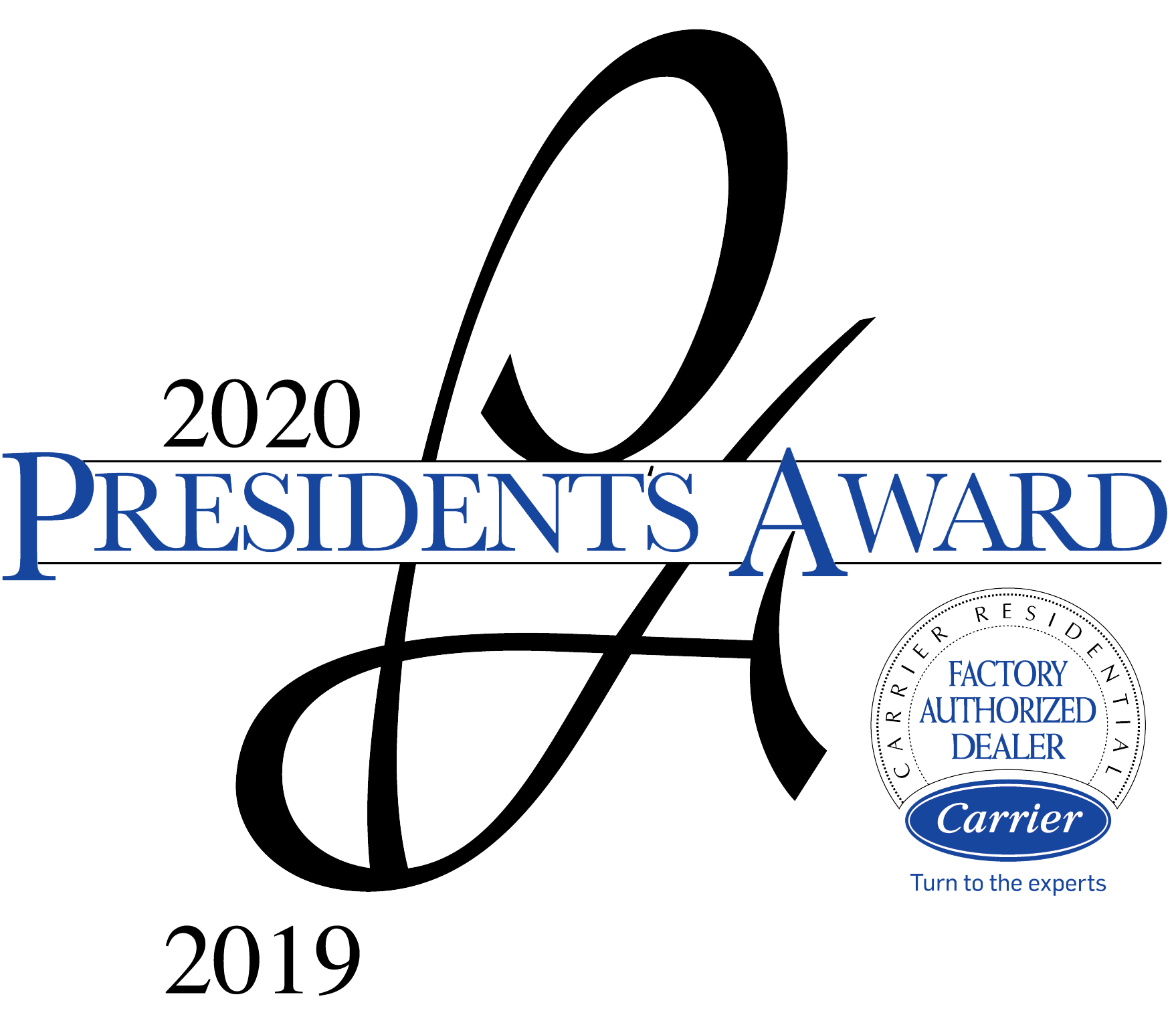 2020 President's Award from Carrier